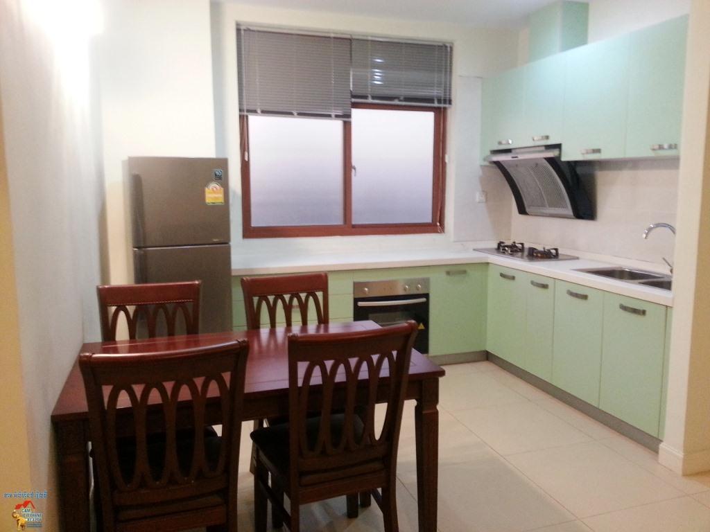 Gym Serviced Apartment 1bed Unit $450-500/month BKK3