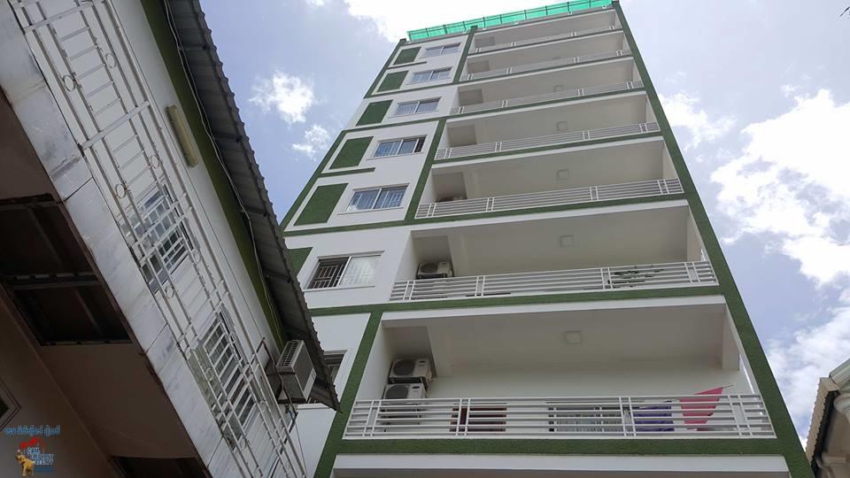 Brand New Elevator Apartment in Tuol Kork for Rent,studio room=$300/m