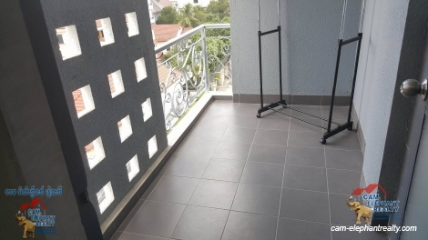 Gym Service Apartment in Phsar Doeum Thkov for Rent,1BR=$450-$500