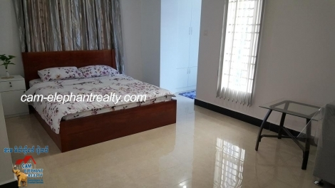 New Western Apartment 1Bed Unit $4400-450/month BKK2 Near Monivong blvd