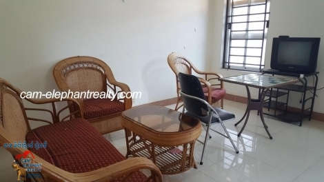 Nice Balcony Furnished Apartment 1bed unit $300/month BKK3