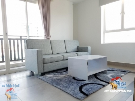 Gym Service Apartment in BKK3 for Rent,1BR=$450-550