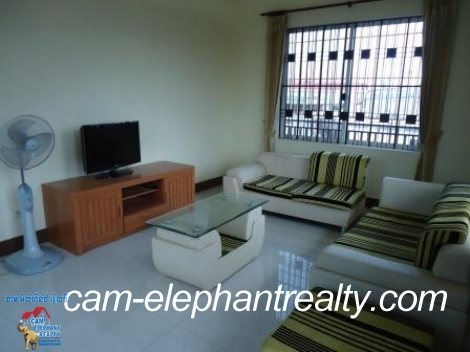 Beautiful Balcony Apartment in Russian Market for Rent,2BR=$500/m