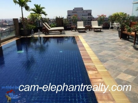 Roof Top Pool&Gym; Apt near Russian Market 4 Rent,1BR=$650