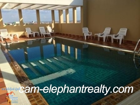 Pool and Gym Apartment in Russian Market for Rent,3BR=$1200