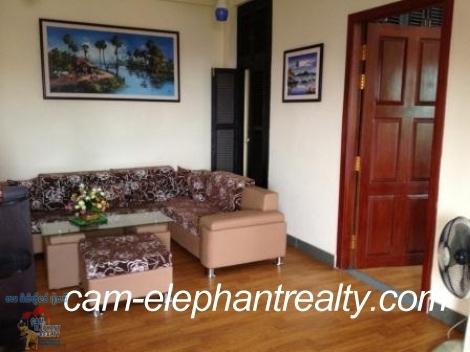 Western Service AP in BKK1 for Rent,1BR