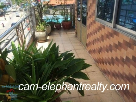 Fully Furnished Apartment in BKK3 for Rent,1BR=$270