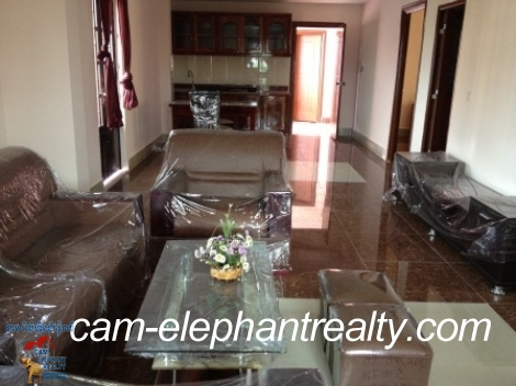 Fully Furnished Apt near Russian Market for Rent,2BR=$450/m