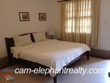 Fully Furnished Service Apartment near BKK2 4 Rent,1bedroom