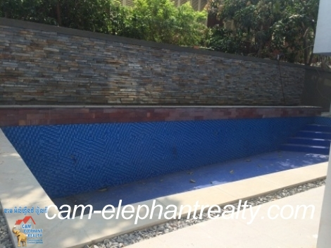 3 bedroom,Pool&Gym Apartment For Rent,BKK1