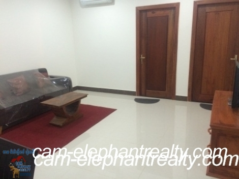 Brand New Service Apartment in Russian Market for Rent,1BR=$450