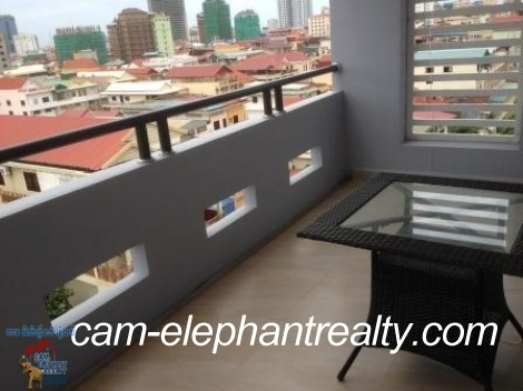 Nice Furnished Apartment in BKK3 for Rent,1BR=$250-$300/m
