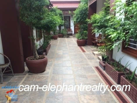 Apartment (Bungalow) in Russian Market for Rent,1BR=$450