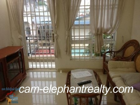 Nice Fully Furnished Apartment in BKK3 for Rent,1BR