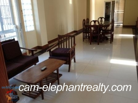 Nice Fully Furnished Apartment in BKK3 for Rent,4BR