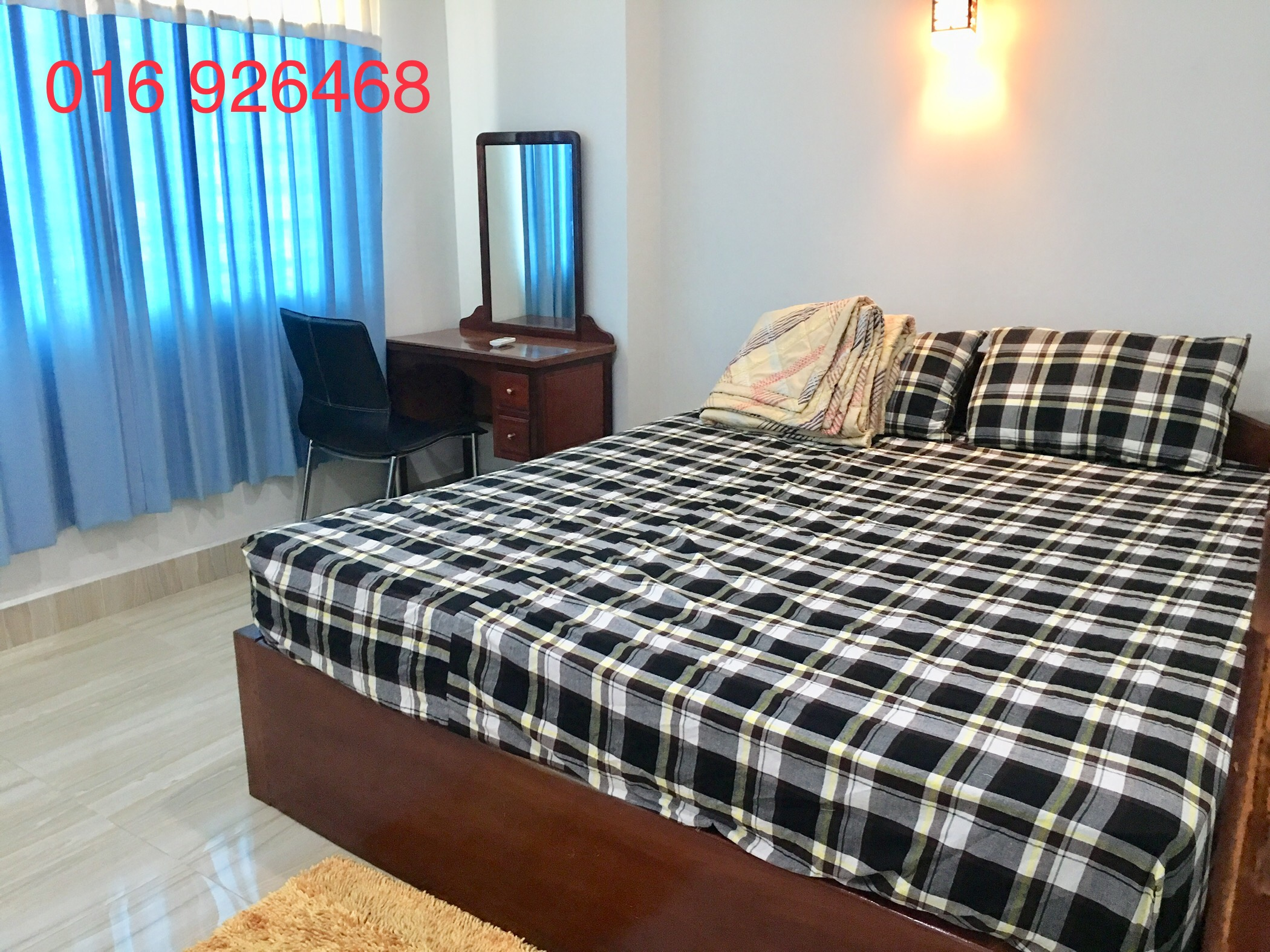 1 Bedroom Fully Furnished Elevator Apartment in Tuol Kork for Rent