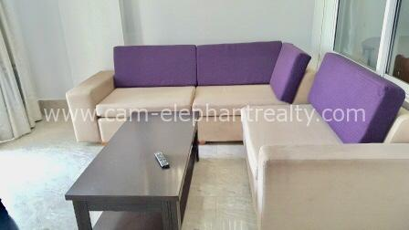 2 Bedrooms $400 Nice Furnished Apartment for Rent in Phnom Penh,BKK2