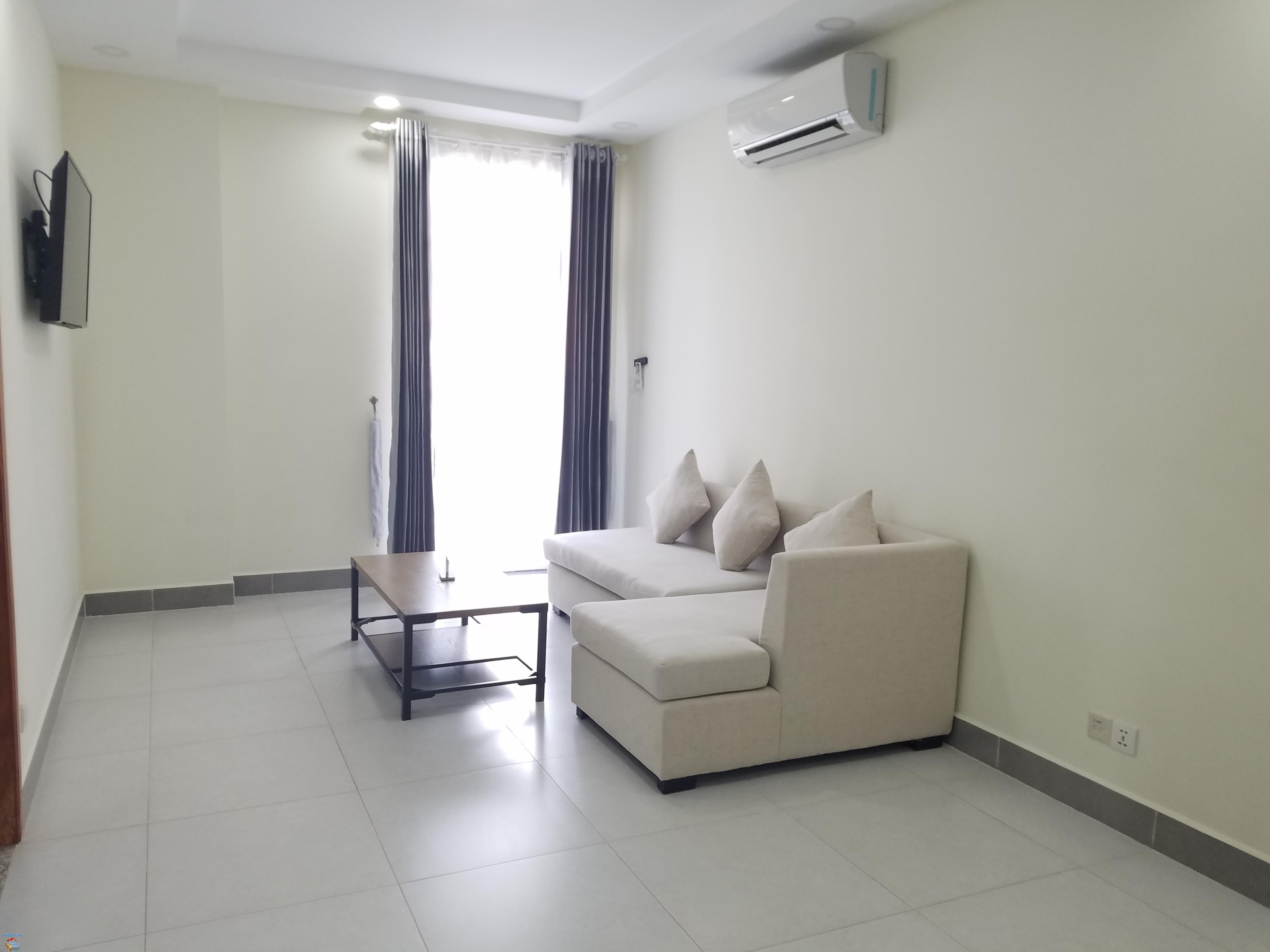 Gym Serviced Apartment 1Bed Unit $500/month **large Unit Boeng Trabek