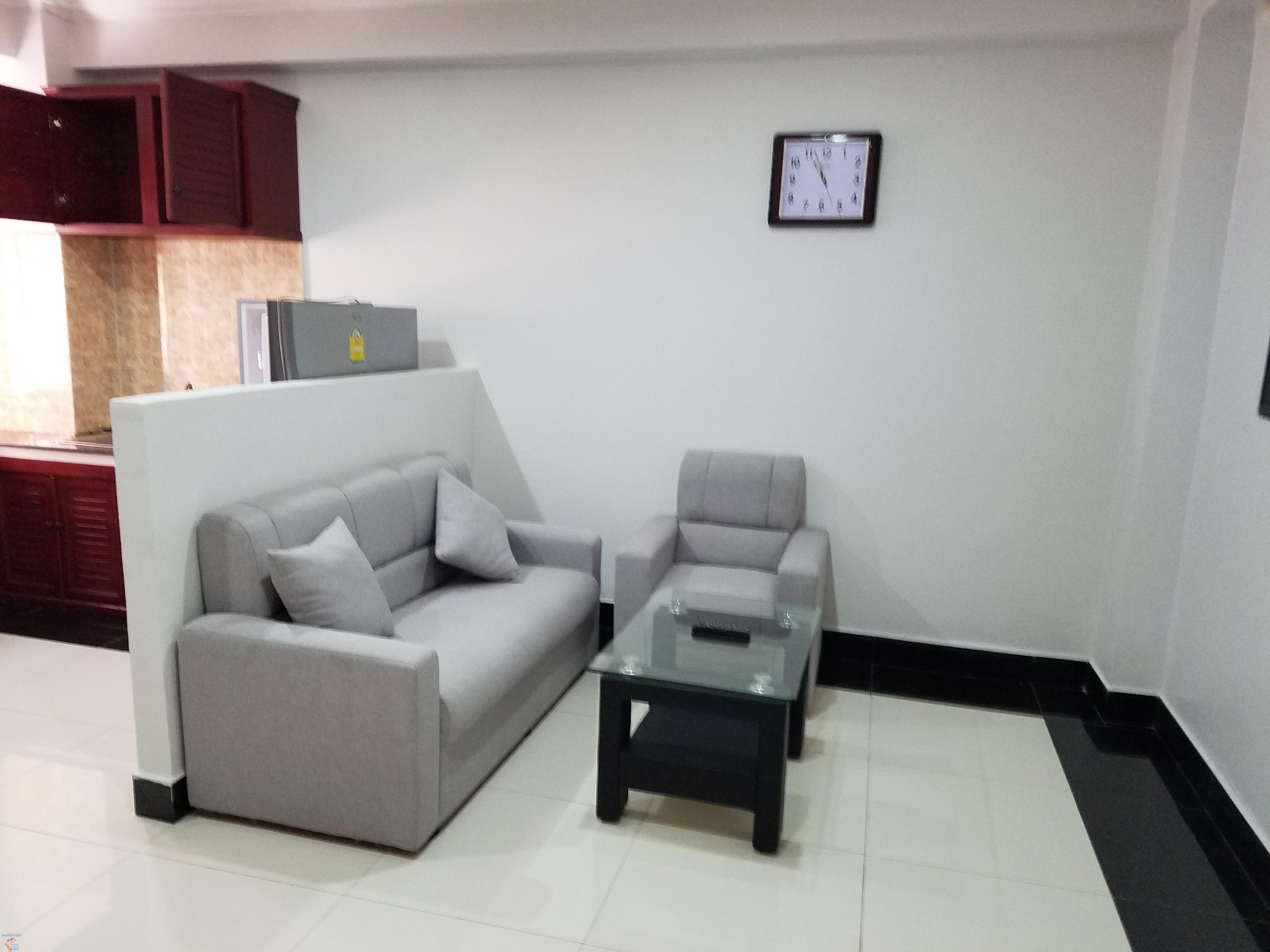 Nice Western Apartment 1Bed Unit $380/month **elevator BKK3