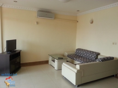 Western Apartment with nice big balcony 1bed $470/month, Doun Penh