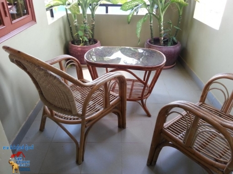 Nice Balcony Apartment 1bed $450/month free cleaning&laundry bkk1