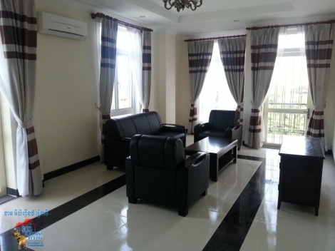 Brand New Apartment 2bed Unit $1000/month *large Size, Tonle Basac
