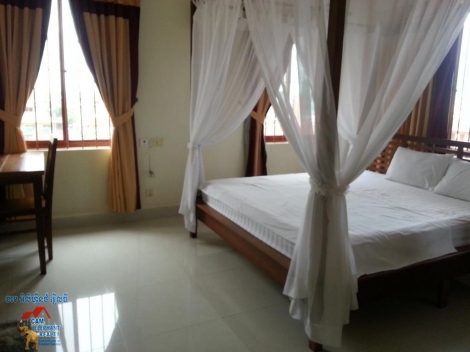 Top Floor Service Apartment 1big Bed +2baths Full services $500/month