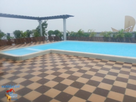 Big Rooftop Pool Service Apartment 2Beds Unit $12000-1500/month
