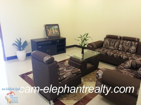 Brand New WEstern Apartment 1bed Unit $430-500/month doun penh near Soriyal Mall