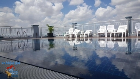 New POOL Service Apartment 1bed Unit $550-600/month BKK3