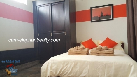 New Stylish Service Apartment 1bed Unit $500-550/month BKK2 near Monivong blvd