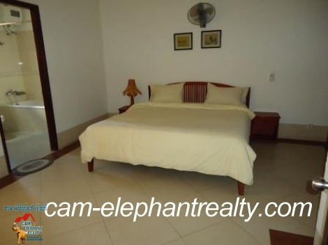 1 bedroom,Fully Furnished Service Apartment For Rent,near BKK2