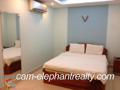 1 bedroom,Western Service Apartment For Rent,near Olympic Stadium