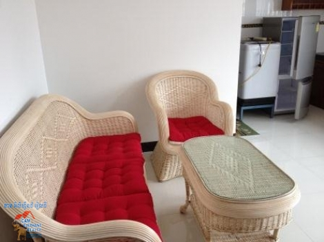 1 bedroom,Nice Fully Furnished Apartment ,Tonle Basac