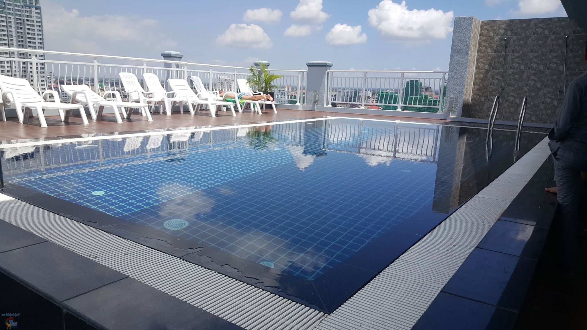 Pool and Gym Serviced Apartment 1Bed Unit BKK3