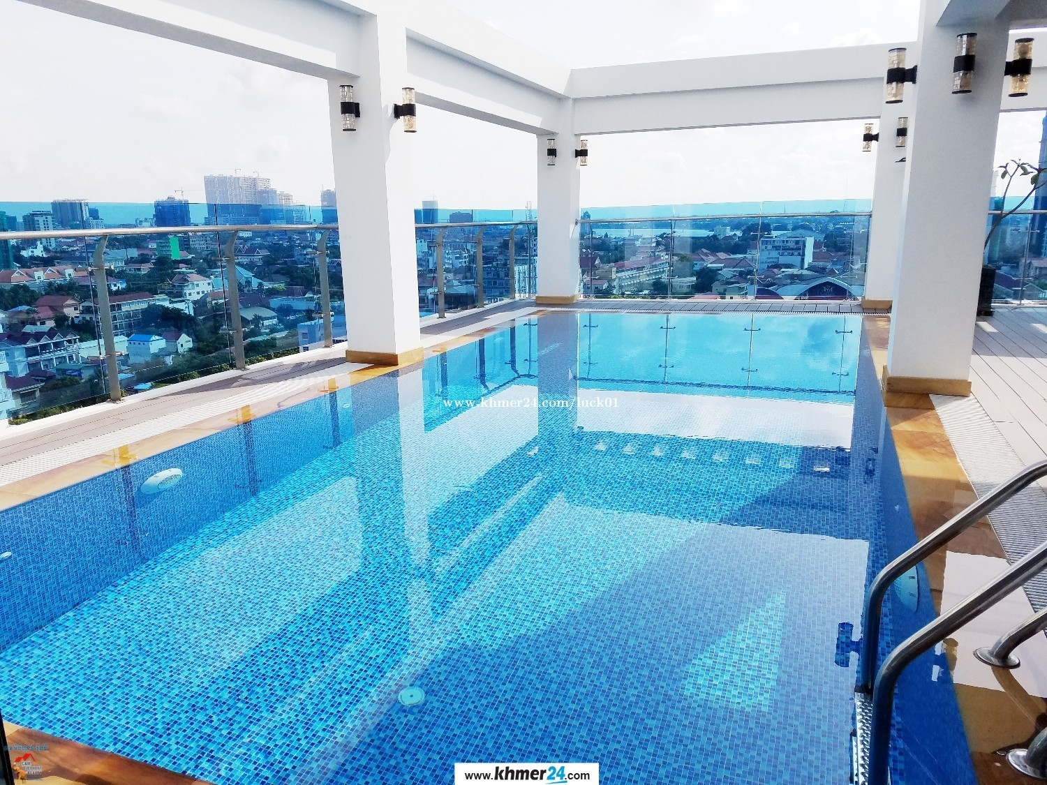 Brand New Pool Serviced Apartment 2Bed Unit near Rusisan market