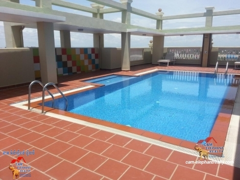 Pool Gym Western Apartment Studio $450/moth Toul Kork
