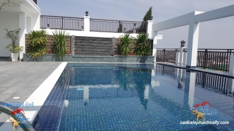 Brand New Pool Service Apartment 1bed Unit $550-600/month near Boeng Trabek