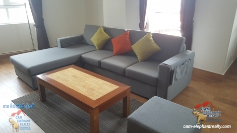 Modern Western Service Gym Apartment for Rent in Tuol Kork,1 bedroom=$750/m