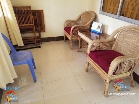 Furnished Apartment 1Bed with balcony $250/month BKK2
