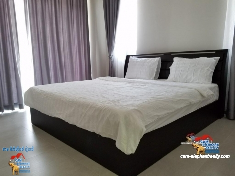 Gym Brand New Service Apartment in BKK2 for Rent,1BR=$500-550/m