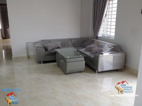 2 bedrooms,Western Apartment for Rent,Tuol Kork