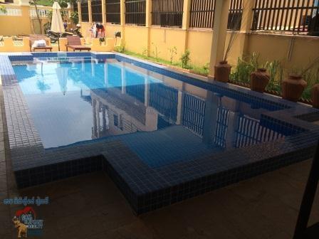 1 bedroom,Pool Colonial Apartment ,Boeng Tompun,near PP Sport Club