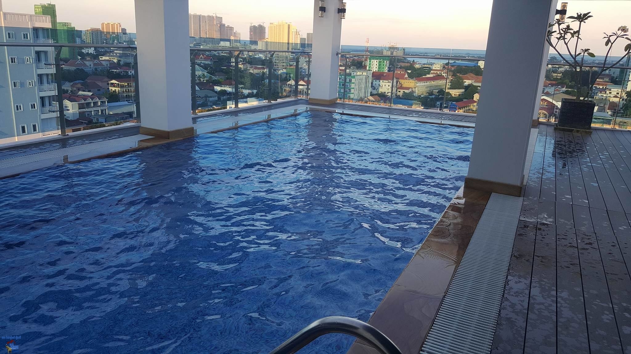 Modern Pool & Gym Apartment For Rent In BKK3,1 Bedroom=$450/M