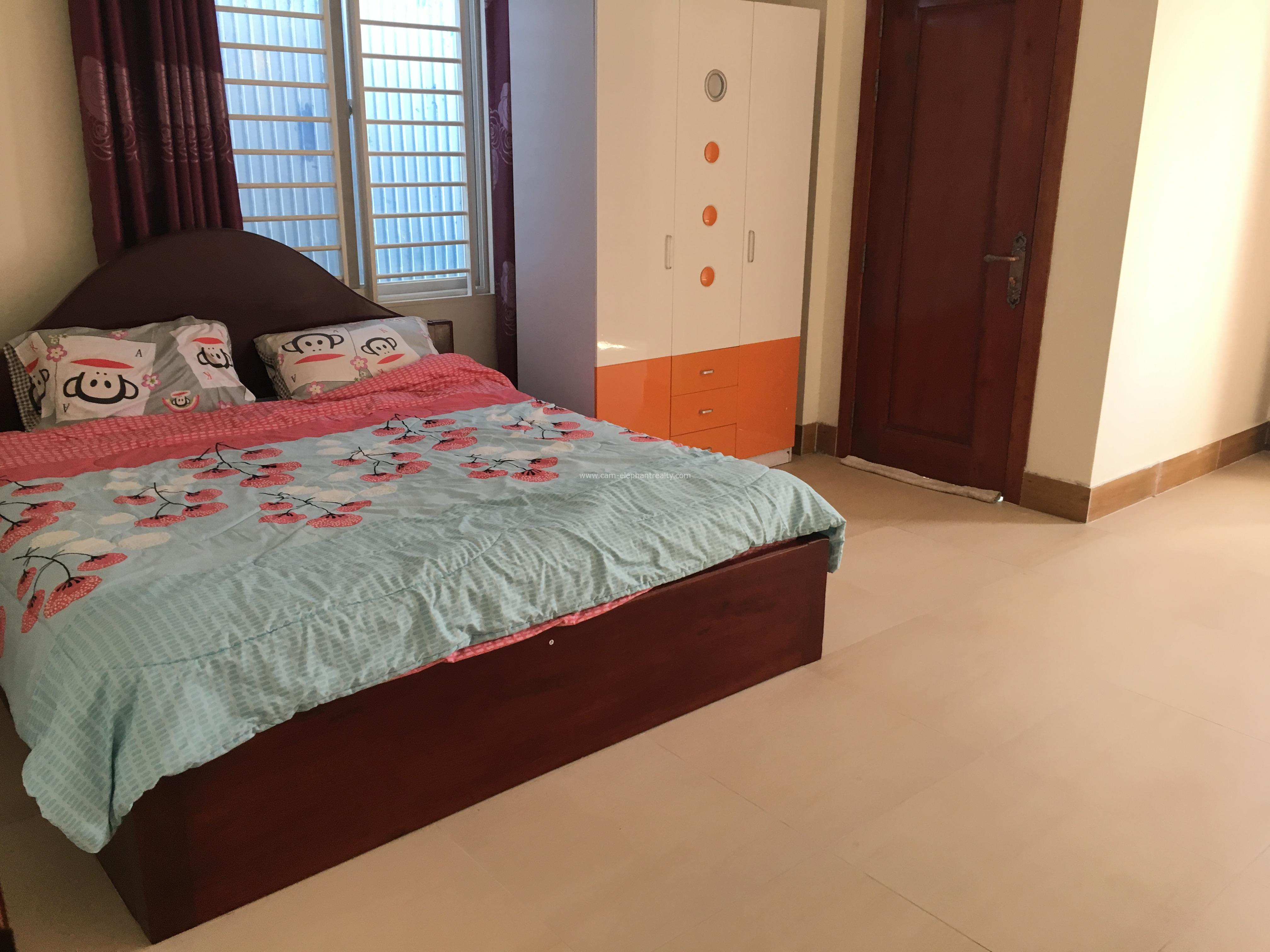 Nice Fully Furnished Apartment For Rent In BKK3, 1 bedroom=350$/M