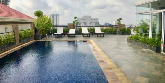 1 Bedroom Roof Top Pool&Gym Apartment For Rent,Russian Market