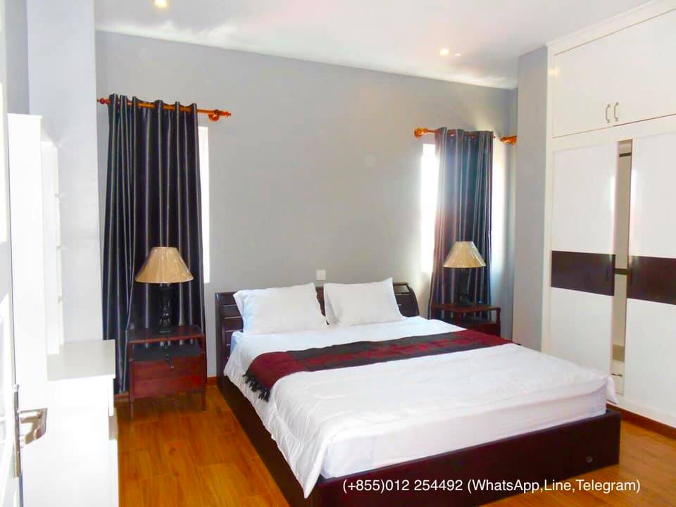 1 Bedroom $450-$500-$600 Modern Luxurious Gym Apartment for Rent in Phnom Penh,Russian Market