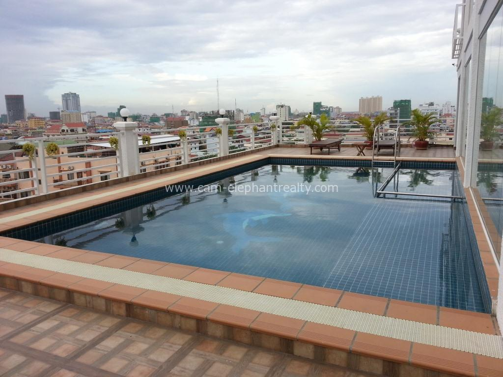 Pool Serviced Apartment 2bedroom $800/month Russian Market