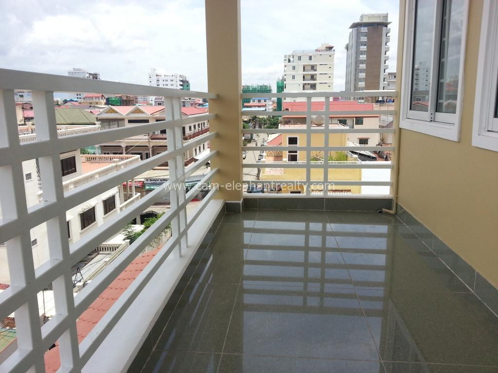 Nice Western Apartment 1Bedroom with balcony $350/month Russian Market