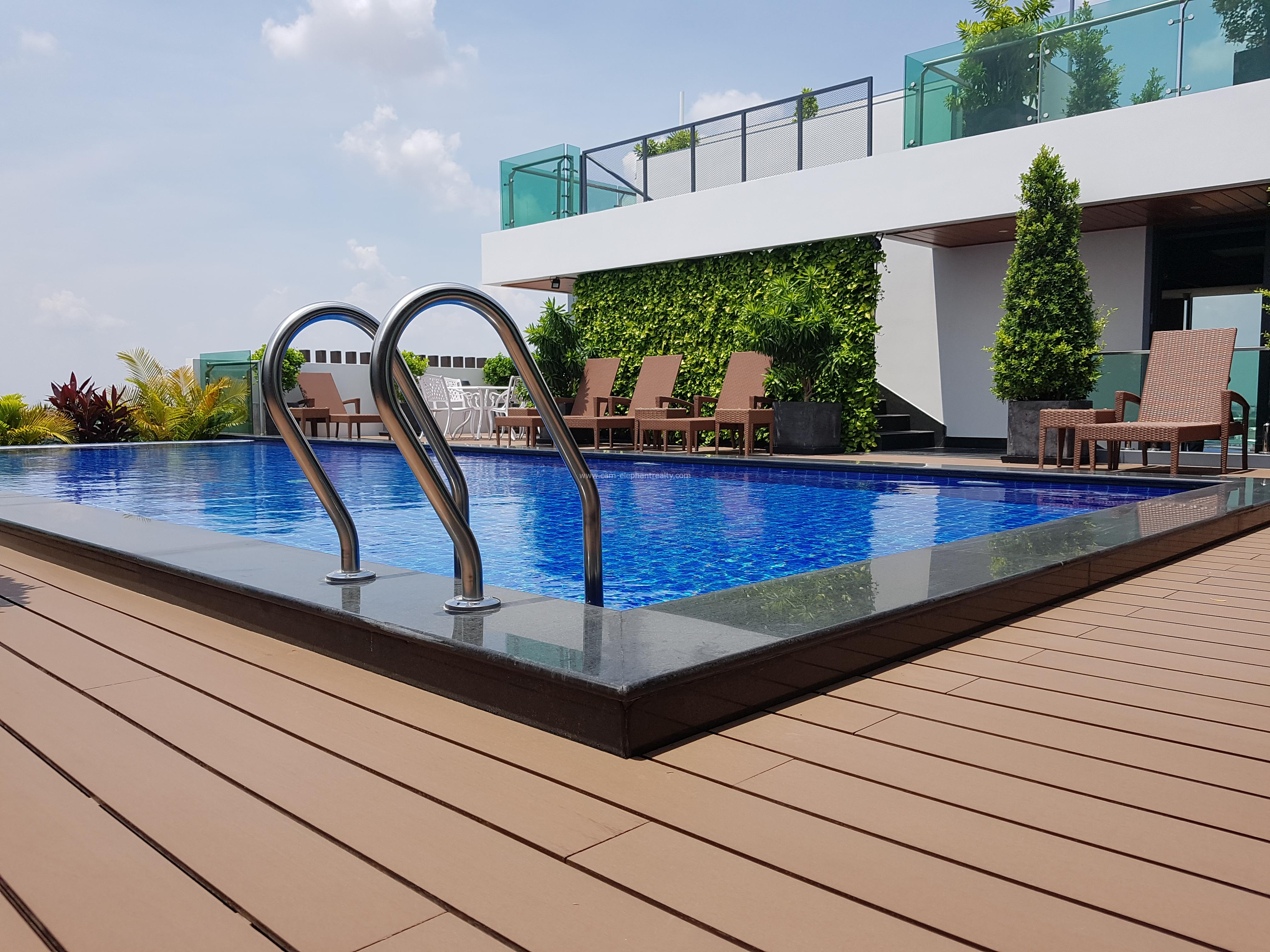 New Pool Western Apartment 1bedroom $600/month up Toul Kork